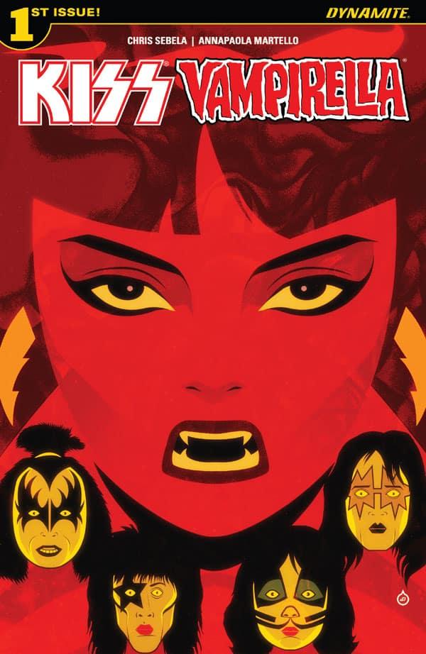 Kiss-Vampirella 1