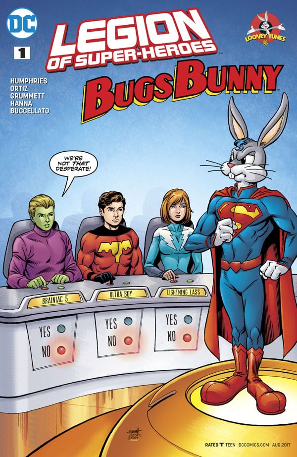 Legion of Super Heroes-Bugs Bunny Special
