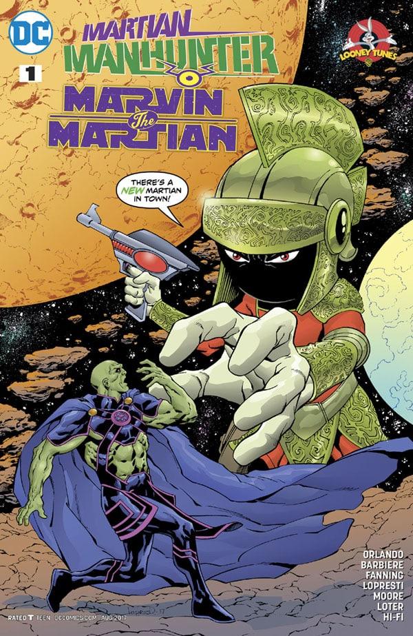 Martian Manhunter-Marvin the Martian Special 1