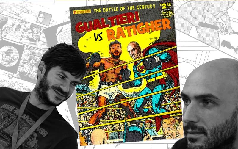 """""""Versus"""": dialogo tra Giulio A. Gualtieri e Ratigher"""