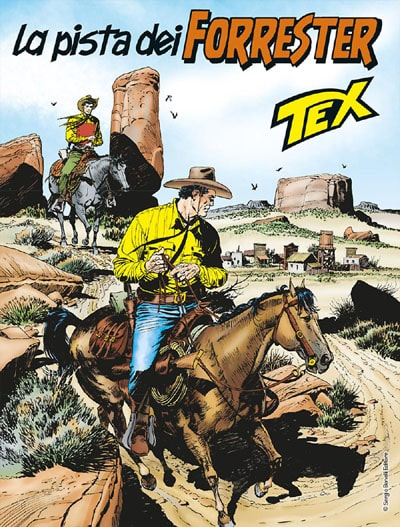 Tex #680 – La pista dei Forrester (Ruju-Filippucci)
