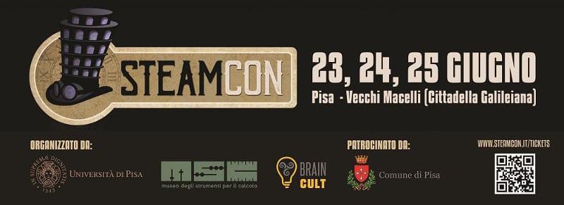 Alfredo Castelli a Pisa ospite di Steamcon 2017
