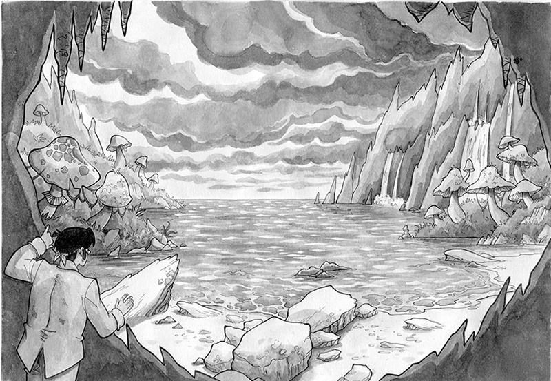 Verne a fumetti: un viaggio al centro delle proprie paure