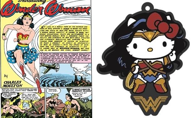 Wonder Woman: partnership con Hello Kitty per uscita in Giappone