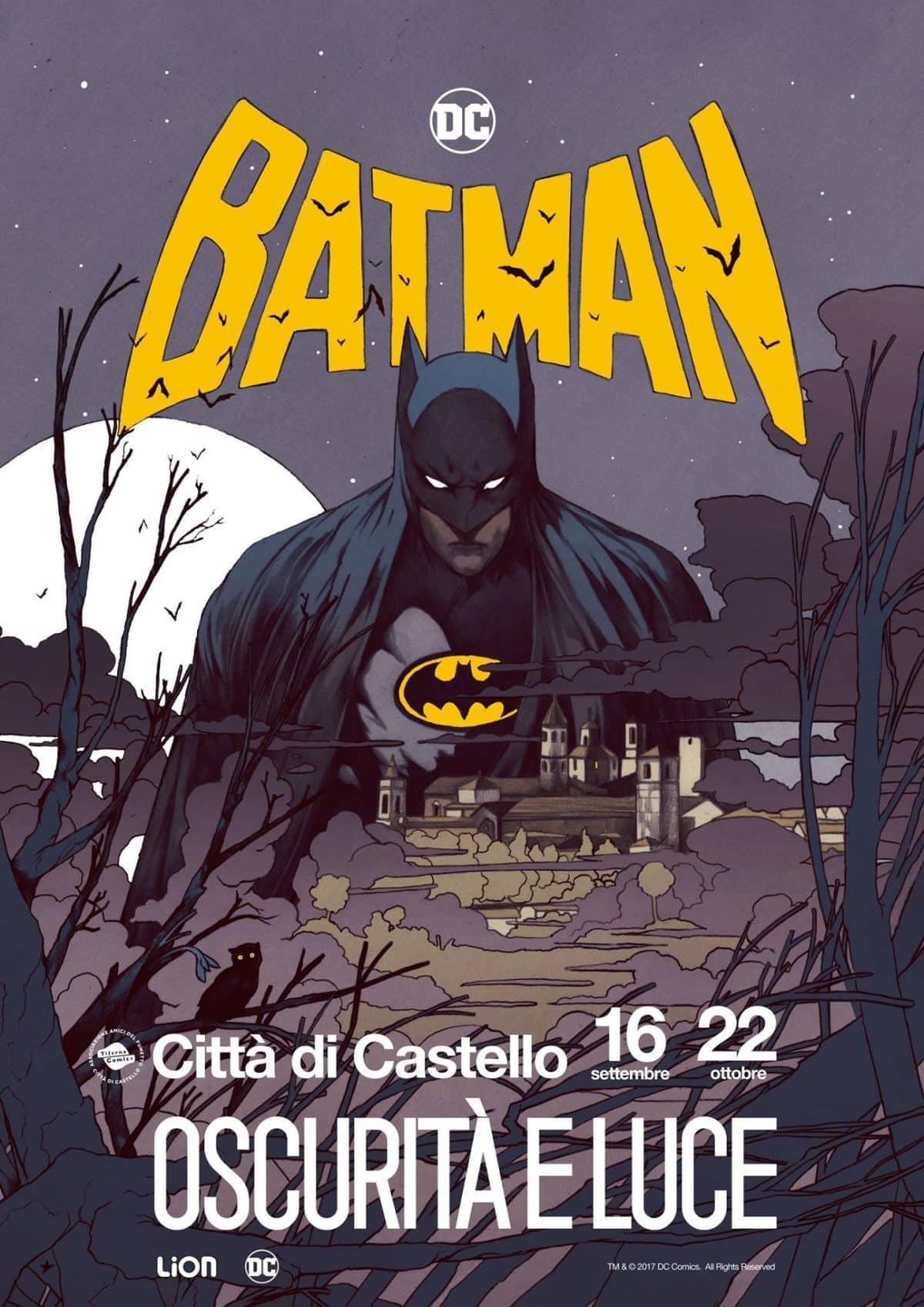 """""""Batman: Oscurità e Luce"""" - mostra a Citta del Castello"""