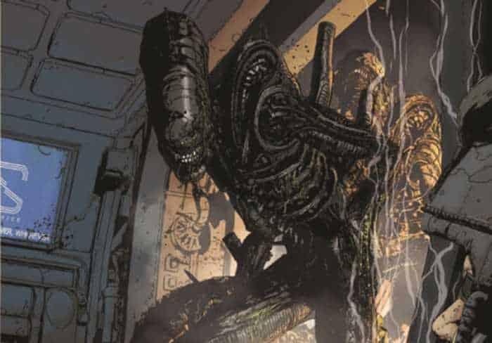 Aliens #2-3 (Wood, Burchielli, Brescini, Jones)