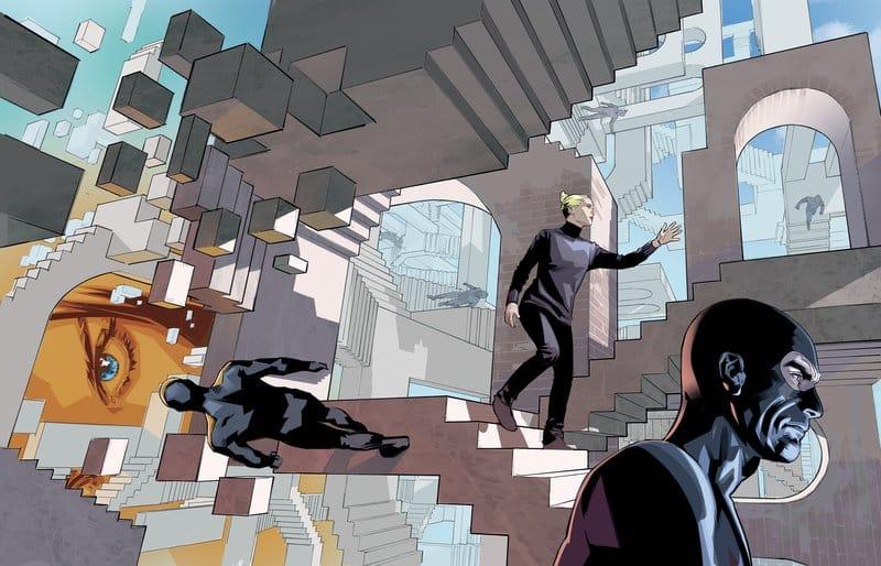 Diabolik ed Eva Kant: crisi di coppia a fumetti