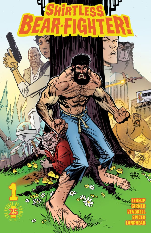 Shirtless-Bear-Fighter-1_First Issue