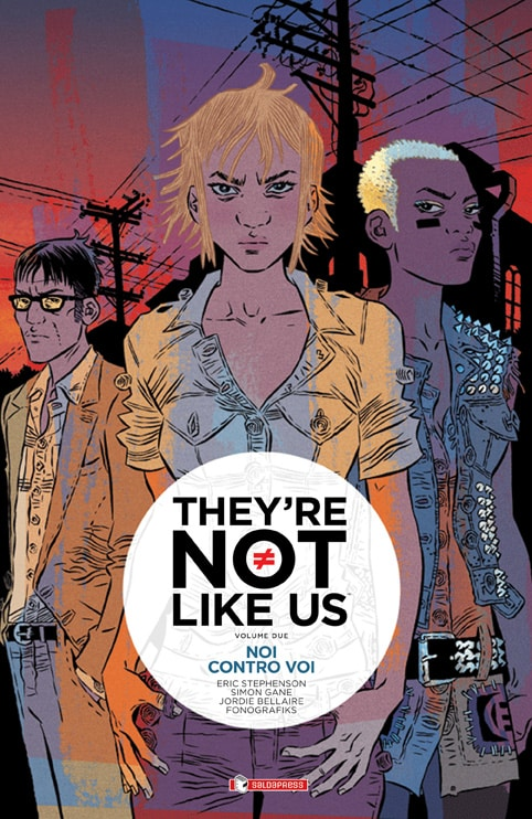E' disponibile il secondo volume di They're not like us