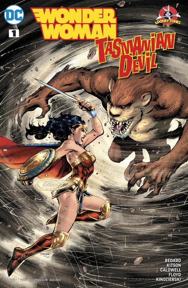 Wonder-Woman-Tasmanian-Devil-Special-1_First Issue