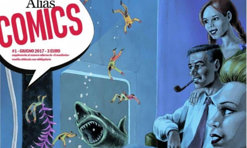 Alias Comics: Il Manifesto riprende a braccetto il fumetto