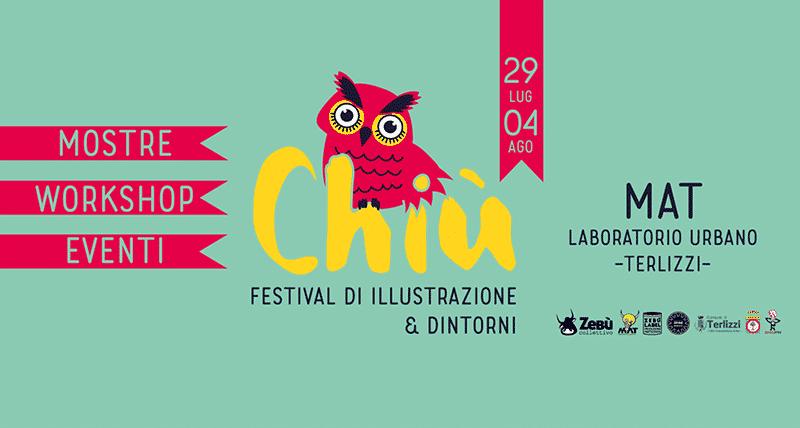 Torna a Terlizzi il Chiù, Festival di illustrazione e dintorni