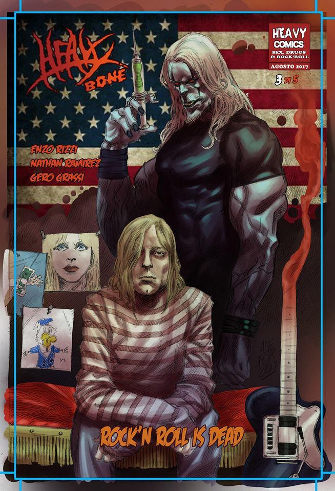 Heavy Bone unisce Heavy Comics e EMP Mailorder