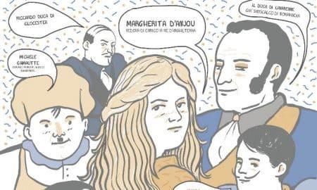 small-Copertina FUMETTO MARGHERITA D'ANJOU by Cristina Portolano