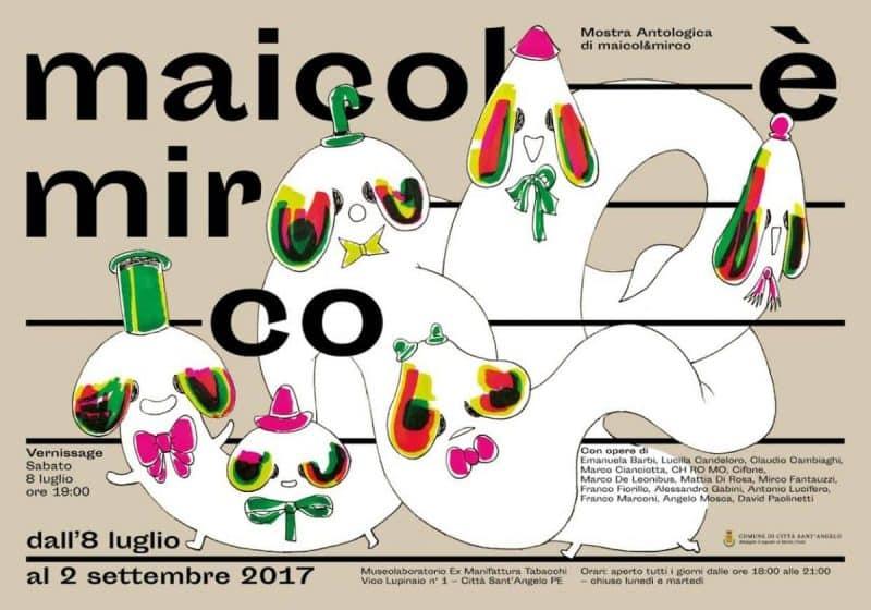 """""""Maicol è Mirco"""" è la nuova antologica di Maicol&Mirco"""