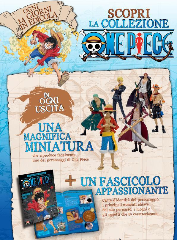 """""""One Piece"""": la collezione delle miniature dei personaggi"""