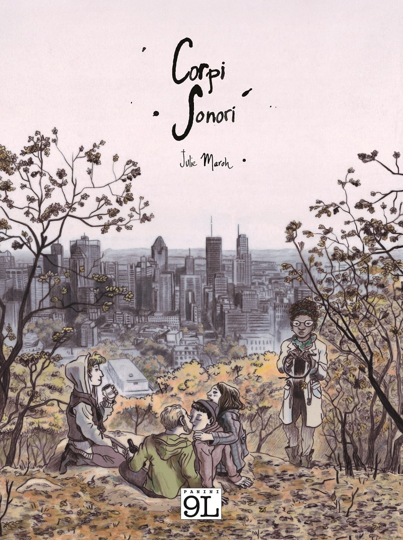 "La nuova graphic novel di Julie Maroh: ""Corpi Sonori"""