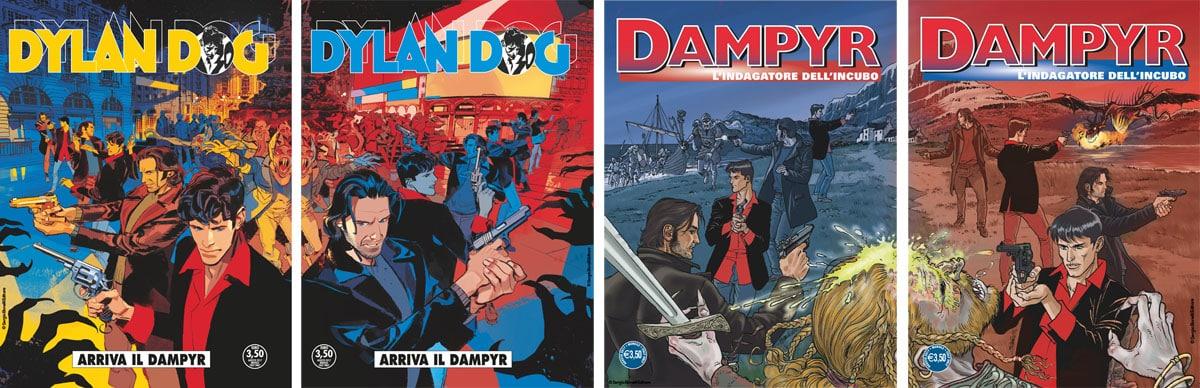 Dylan Dog & Dampyr: attenti a quei due!
