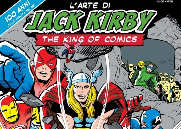 """WOW Spazio Fumetto ospita la mostra """"L'arte di Jack Kirby"""""""