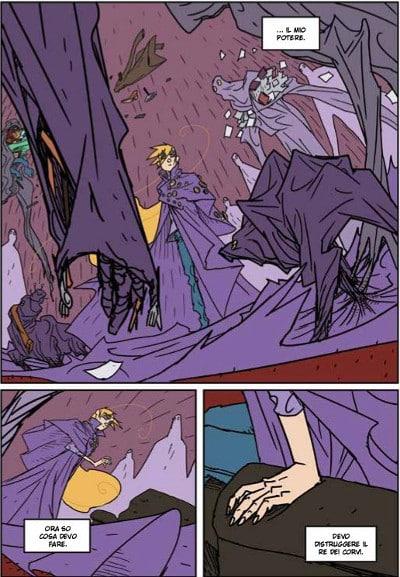 La formazione della Principessa Spaventapasseri di Edrighi