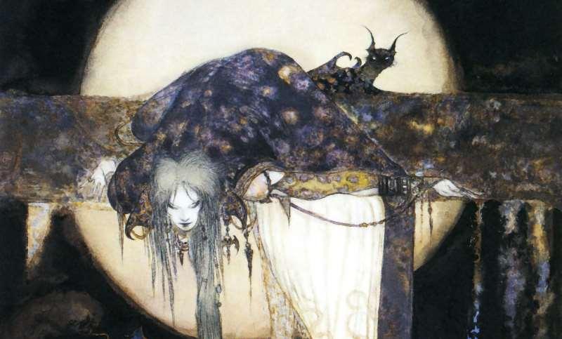 """Torna """"Cacciatori di sogni"""": Sandman illustrato da Yoshitaka Amano"""