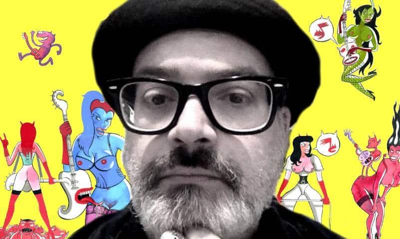 Massimo Giacon e il fetish erotismo della decadenza