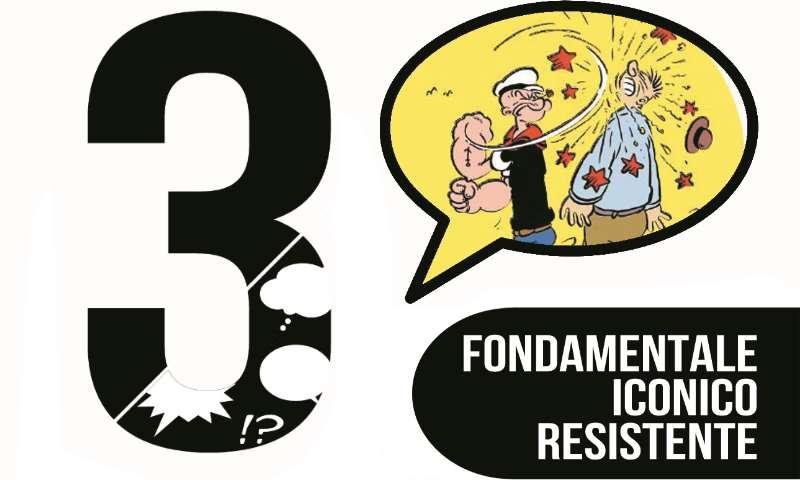3 – Il meglio del fumetto: Popeye, L'attentatore, Crimson