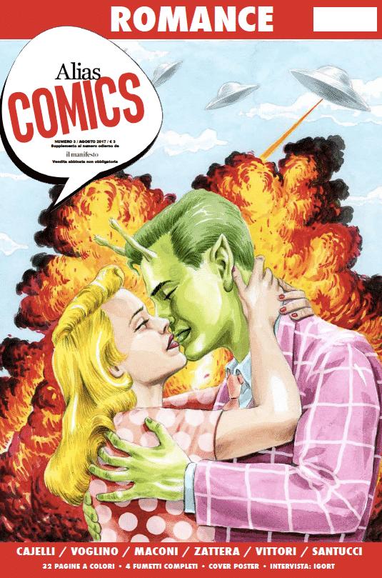Brenda Cowgirls su Alias Comic #3 ora in edicola