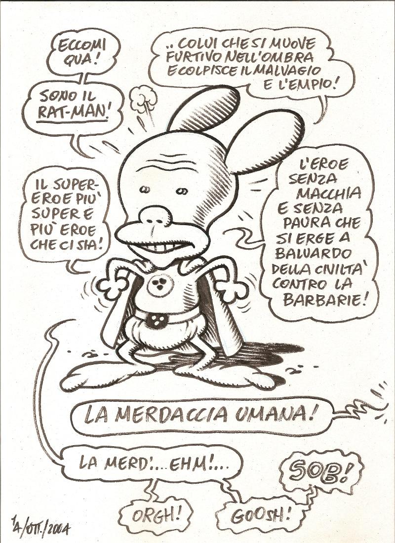 La fine di Rat-Man per Massimo Bonfatti