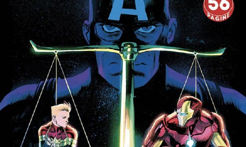 Capitan America #18: Nubi oscure sul futuro