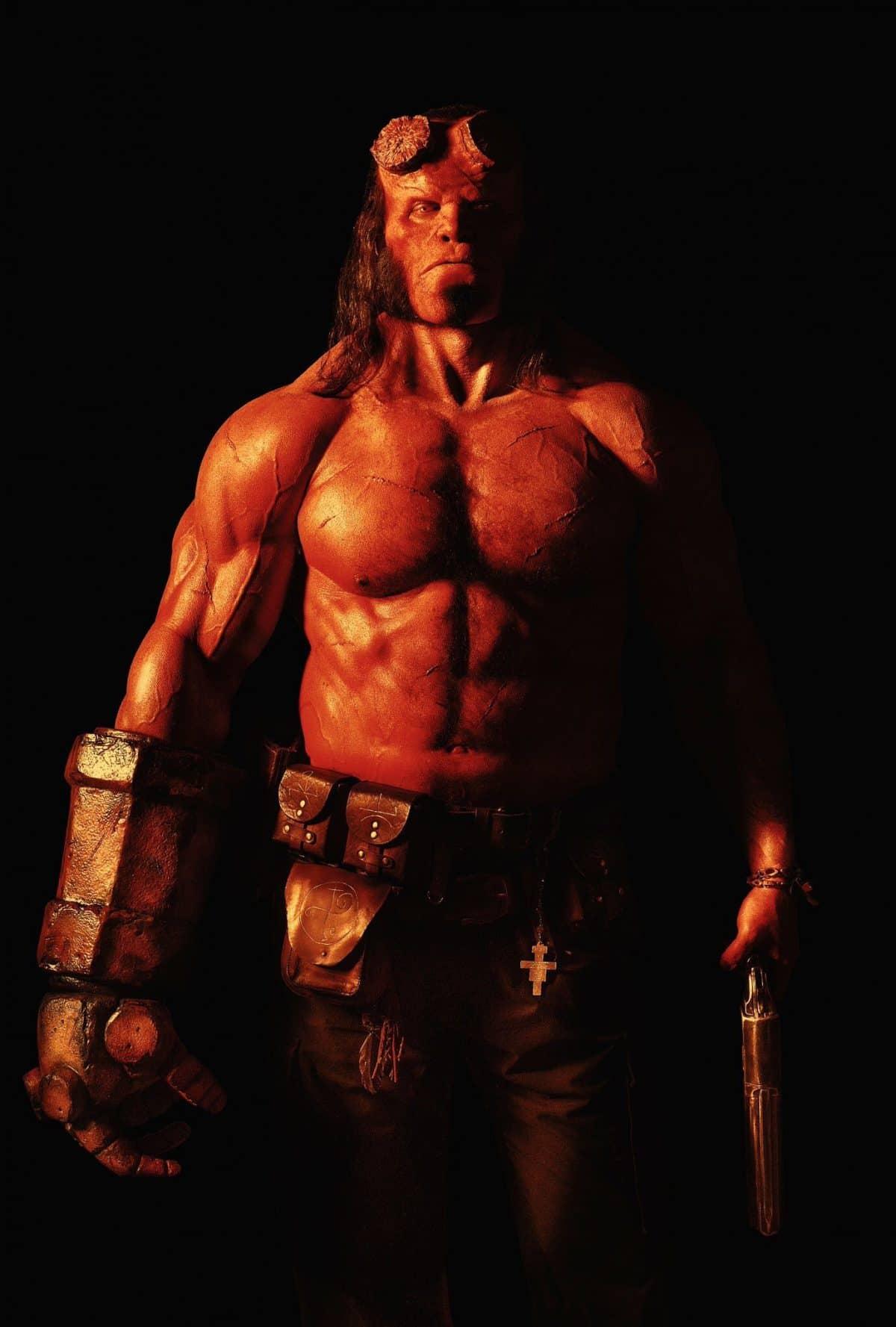 Prima immagine ufficiale del nuovo Hellboy_Notizie