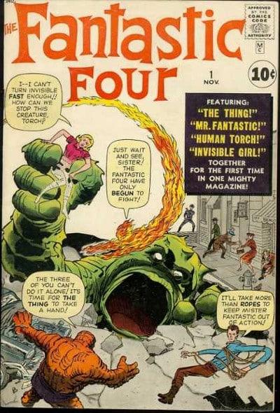 Fantastic Four 1 - originale