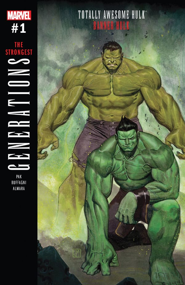 Generations - Banner Hulk & The Totally Awesome Hulk 1