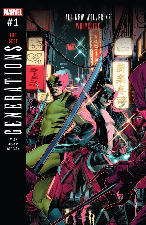 Generations - Wolverine & All-New Wolverine