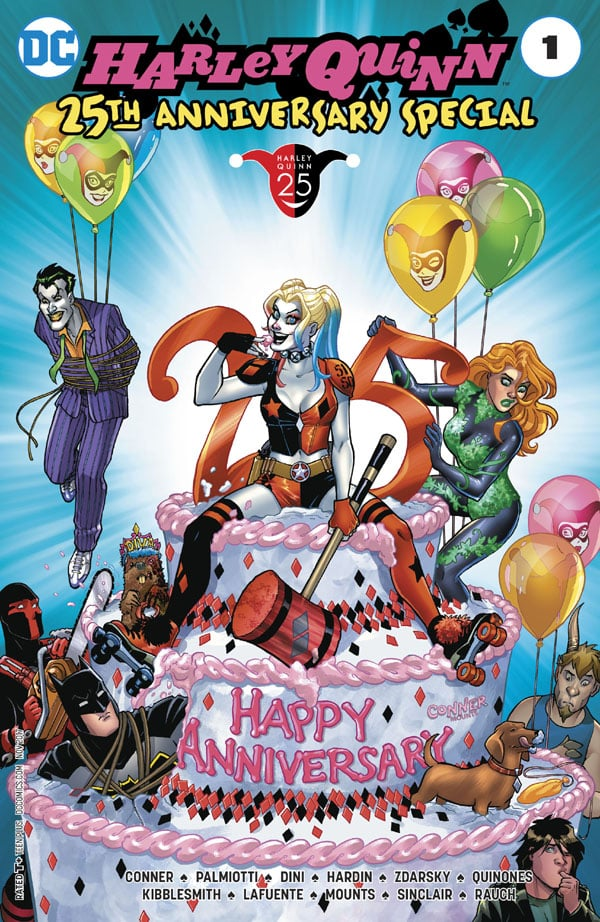Harley-Quinn-25th-Anniversary-Special_First Issue