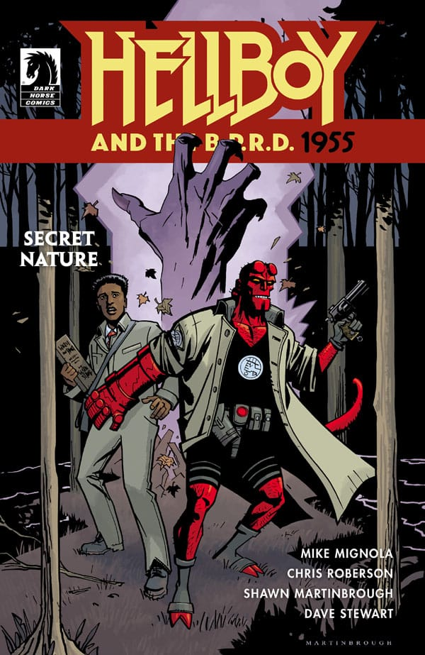 Hellboy and the B.P.R.D. - 1955--Secret Nature