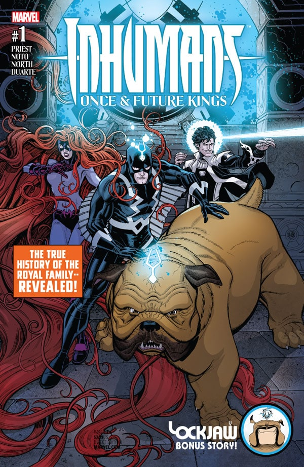 Inhumans - Once And Future Kings 1