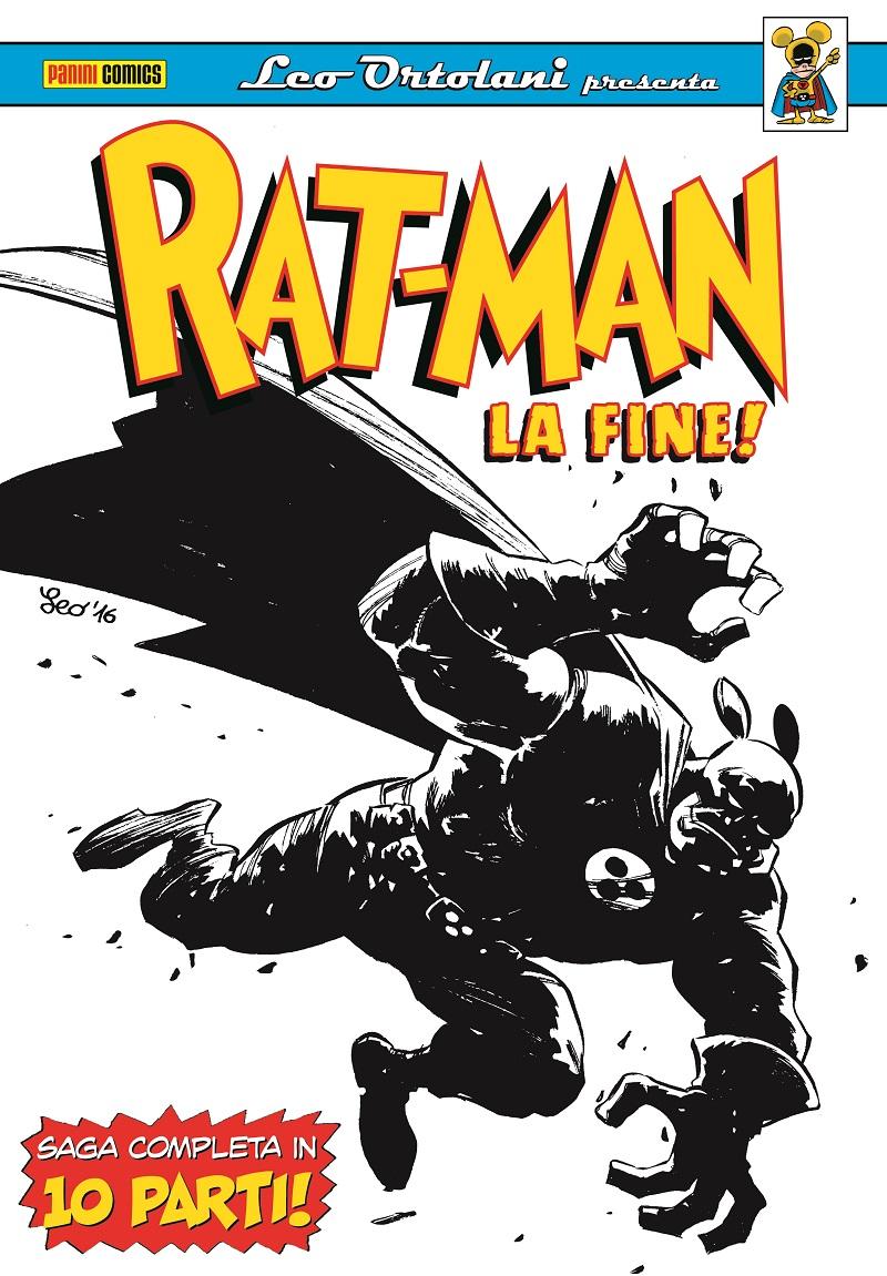Rat-Man – La fine! – Omnibus: anteprima della copertina