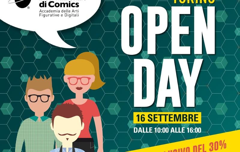 Open Day Scuola Internazionale di Comics