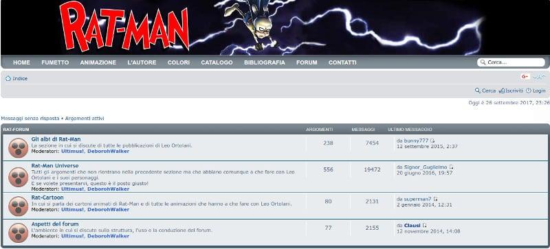 Official Rat-Man Home Page: 20 anni e non sentirli_Approfondimenti
