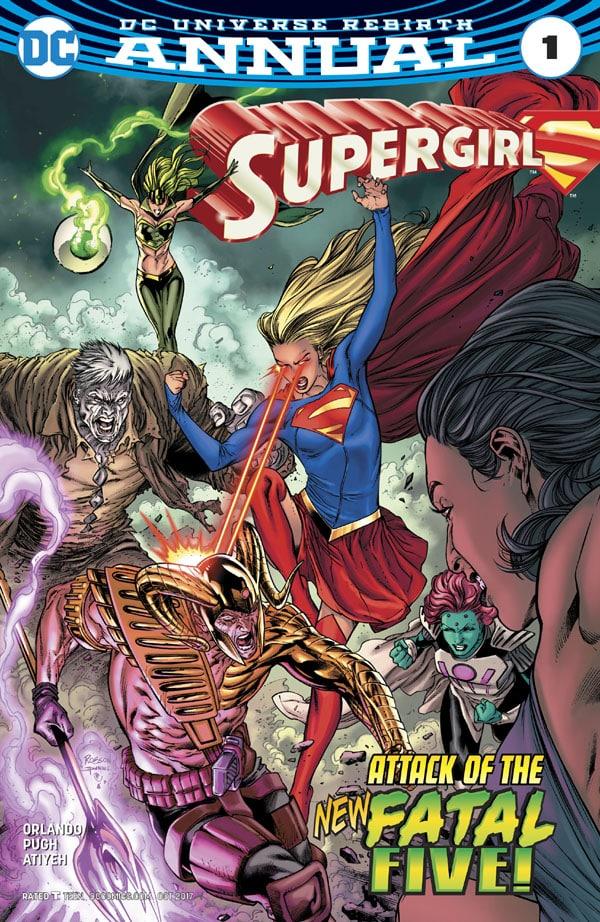 Supergirl Annual 1