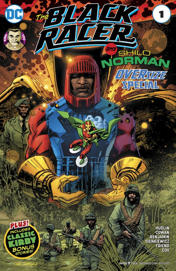 The-Black-Racer-and-Shilo-Norman-Special_First Issue