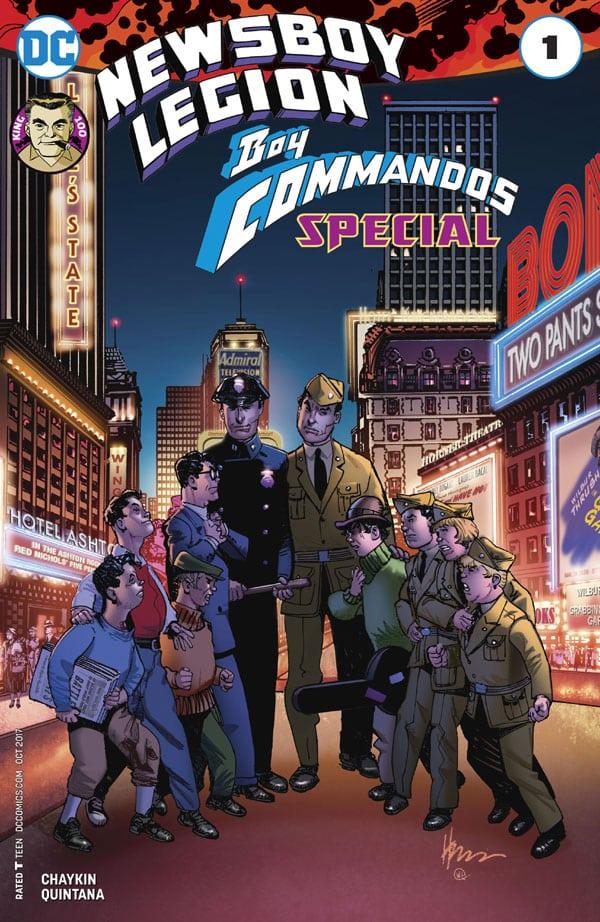 The Newsboy Legion and the Boy Commandos Special