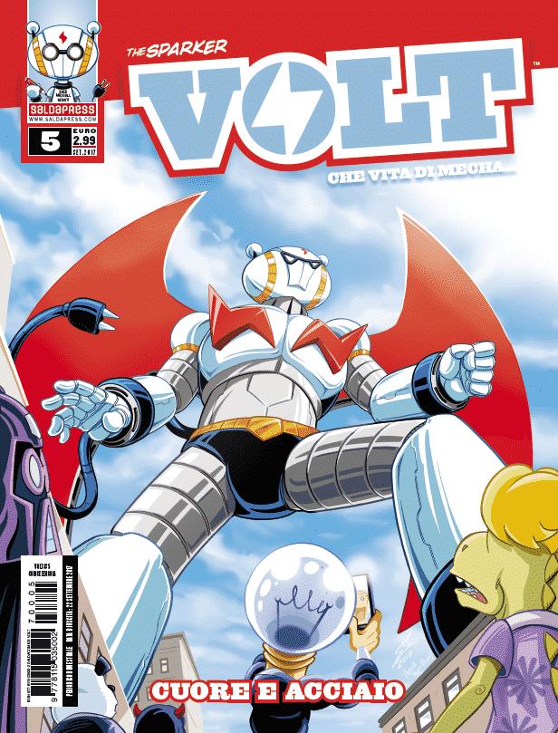 """""""Cuore e acciaio"""": il quinto numero di VOLT"""