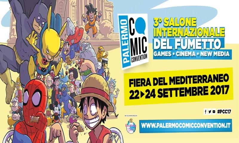 Palermo Comic Convention 2017 22 – 24 settembre