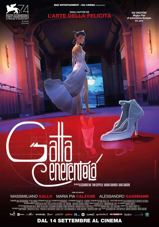 Gatta Cenerentola dal 14 settembre al cinema