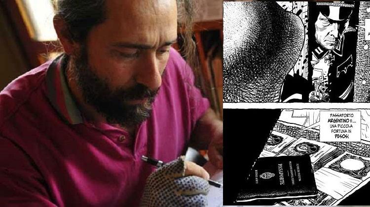 Carlos Gomez copertinista regolare di The Cannibal Family