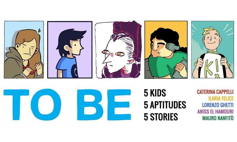 """""""TO BE"""", cinque racconti di supereroi adolescenti"""