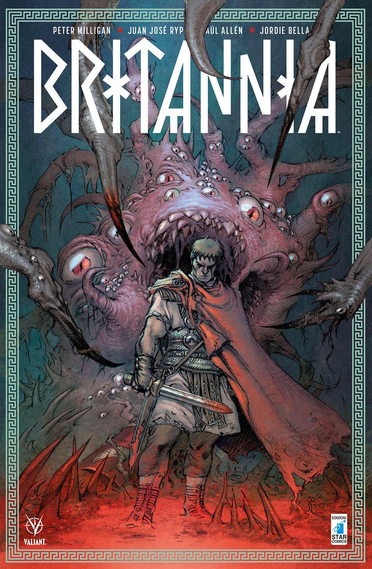 Theo firma la variant cover italiana di Britannia