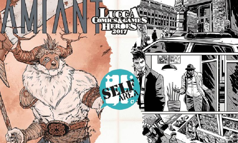 Amianto Comics: le novità di Lucca Comics & Games 2017